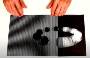 Illusion d'optique Effet moiré