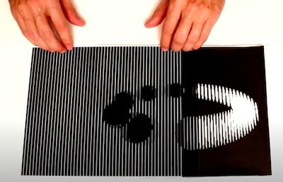 Read more about the article Illusion d'optique Effet moiré